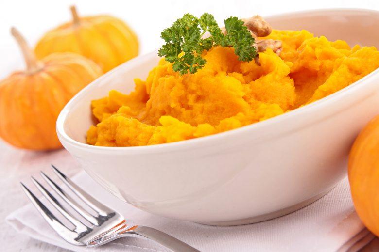 Tekvica na spôsob zemiakovej kaše