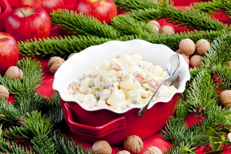 Tradičný zemiakový šalát
