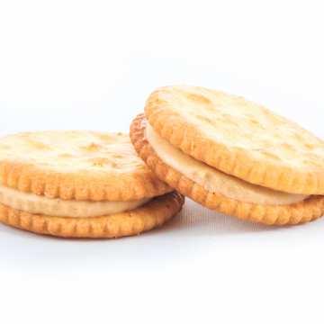 Plnené maslové sušienky