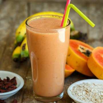 Papaya-zázvorové smoothie