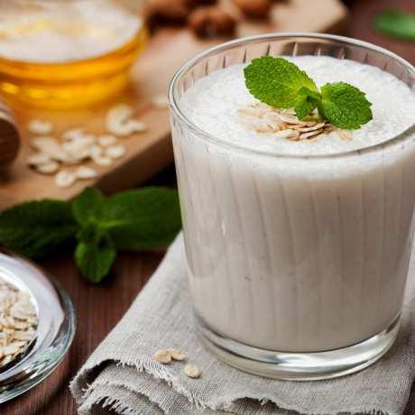Banánovo-vločkový proteínový smoothie