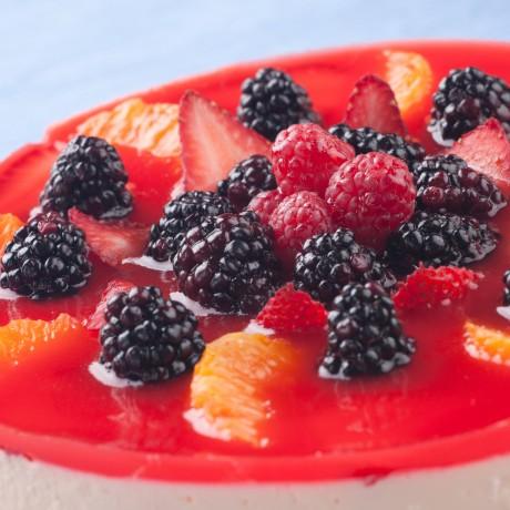 Jahodovo-jogurtová torta