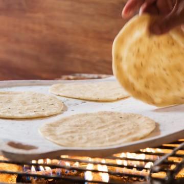 Domáce mexické tortilly