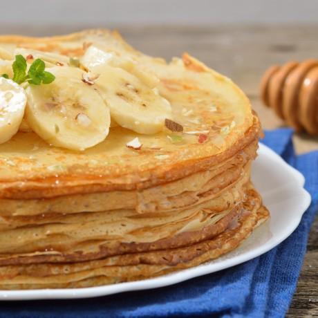 Banánovo-proteínové lievance